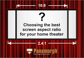 home theater news which home theater screen aspect ratio is for you 2 40 1 2 35 1