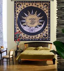 Sun And Moon Bedding Sun And Moon Wall Hanging Tapestry Handicrunch Com