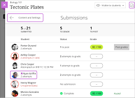 Map Scores By Grade Assign Grades Blackboard Help