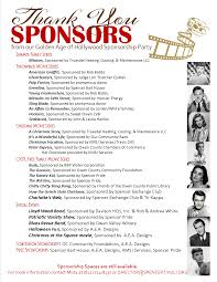 2016 sponsorships tivoli