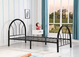 Bed Set Furniture Amazon Com Roundhill Furniture Belledica Metal Bed Set With