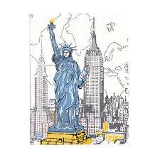 Handmade In New York - new york liberty handmade journal