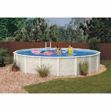 gsm 24 u0027 round crystal river above ground swiimming pool package