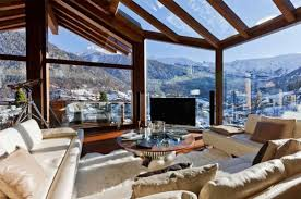 chalet designs 35 chalet living room designs digsdigs