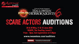 universal orlando resort halloween horror nights halloween horror nights 6 scare actors auditions youtube