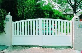 portails de jardin modèles de portail de jardin pvc et portillons