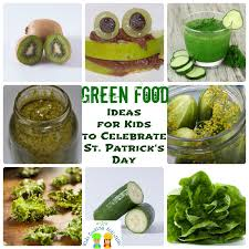 kids cooking activities st patrick u0027s day green recipe ideas