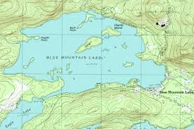 durant wyoming map blue mountain lake cing adirondack mountains york