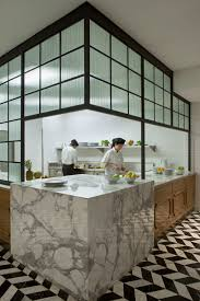 residential kitchen inspired marble counters stunning chevron