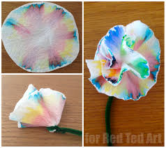 coffee filter flowers u0026 science experiment in one chromotography