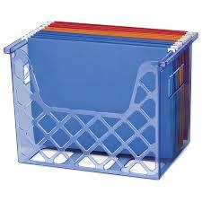 Office Depot Desk Organizers by Amazon Com Officemate Oic Blue Glacier Desktop File Organizer