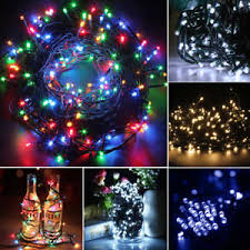 400 led outdoor christmas lights 200 300 400 led green cable lights string fairy outdoor xmas garden
