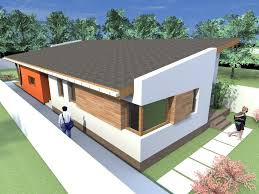 home design one story house plans modern with 1 building inside
