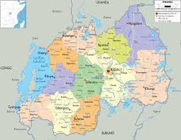 Map Of Equator Detailed Clear Large Map Of Rwanda Ezilon Maps