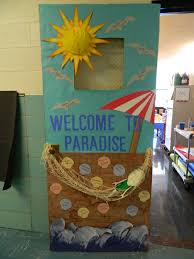 Beach Decorations For The Home Beach Door Decorations U0026 Teacher Appreciation Door