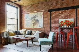loft living ideas design ideas bright and beautiful industrial loft living room