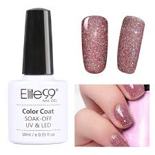 elite99 bling neon uv led gel nail polish glitter uk stock ebay