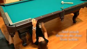 Pool Table Rails Replacement How To Felt A Pool Table With Pictures Wikihow