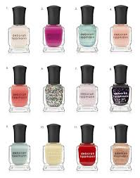 gorgeous cruelty free nail polish by deborah lippmann