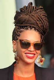 96 best box braids updo hairstyles images on pinterest box