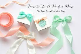 diy tips how to tie a bow weddings ideas from evermine