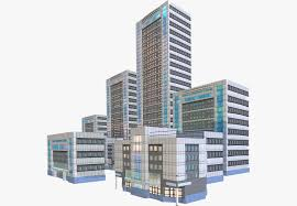 Modern City by Modern City Buildings Pack 3d Asset Cgtrader