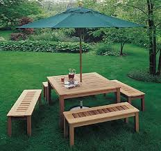 Plans For Picnic Tables by Woody U0027s Woodworking Plans And Projects Basic Picnic Table Plans