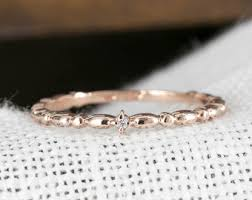 yellow gold wedding band with white gold engagement ring ultra thin gold wedding band 1mm thin ring 14k yellow gold
