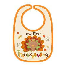 new unisex baby s thanksgiving bib gobble on turkey