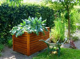 How To Build An Herb Garden Raised Bed Gardens And Small Plot Gardening Tips The Old
