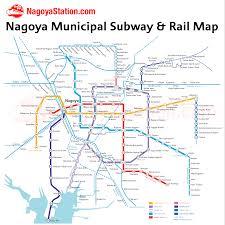 Boston Metro Map Nagoya Subway U2013 Nagoya Station