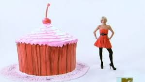 the biggest cupcake in the world on paris hilton u0027s my new bff