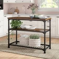 country kitchen island cottage country kitchen islands carts you ll wayfair