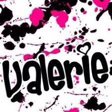 valerie name tattoo designs designtatueringar namn och design