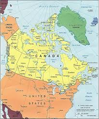 Map Of Canada And Us Maps Of Canada