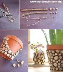 Best Out Of Waste Flower Vase Pot Decoration Ideas On Best Out Of Waste Best Out Of Waste