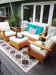 outdoor u0026 garden unfinished wooden deck outdoor dining furniture