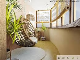urban modern interior design wicker furniture in modern interior