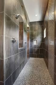 unique bathroom flooring ideas 27 walk in shower tile ideas that will inspire you home remodeling