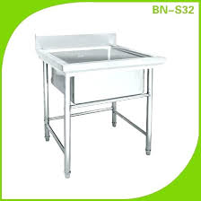Stainless Steel Sinks Sink Benches Commercial Kitchen Used Stainless Steel Sinks Tables Jd Catering Revere Home Depot