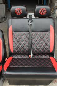 volkswagen microbus 2016 interior 10 best vw t5 red and black interior images on pinterest black