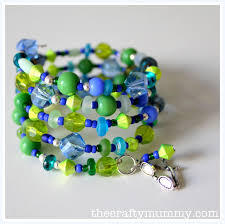 beaded bracelet pattern images Beaded bracelet tutorial the crafty mummy jpg