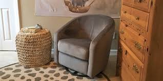 swivel glide chair best glider rocking chair for nursery bestadvisor