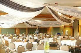 Curtains Wedding Decoration Drapery Wedding Decoration Tricolor Luxury Wedding Tent Draping At