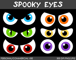 halloween scary clipart halloween eyes clipart clipartsgram com