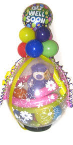 gift inside balloon balloons galore gift balloon bouquet deliveries to brisbane and
