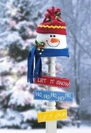 Snowman Lawn Decorations Decorative Lawn Ornaments Foter