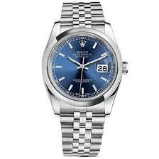 bracelet rolex images Rolex datejust blue index dial jubilee bracelet mens watch 116200blsj jpg