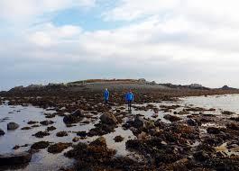 Geocache Map Geocache Treasure On The Island Of Houmet Paradis Guernsey The