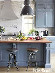 slate blue painted kitchen cabinets 12 interiors designed by slate blue wood tones